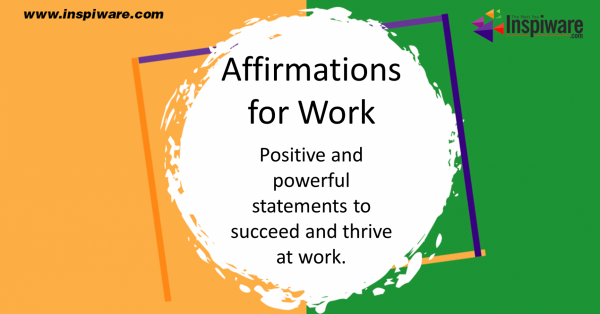 Affirmations for Work