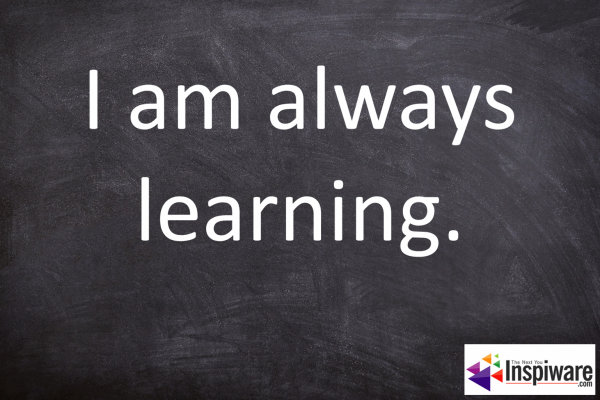 Affirmations for Kids: I am always learning