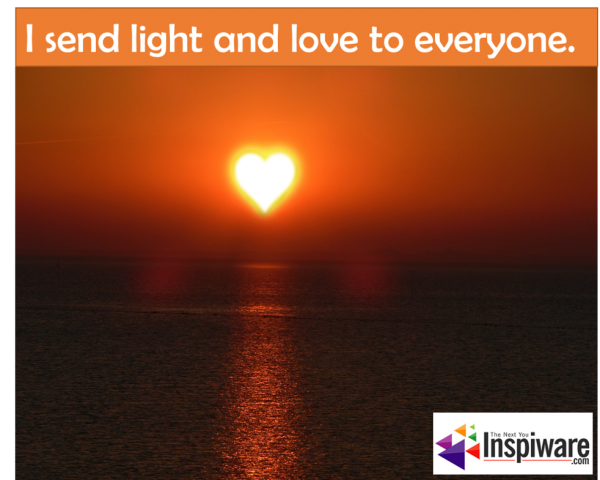 I send light and love to everyone