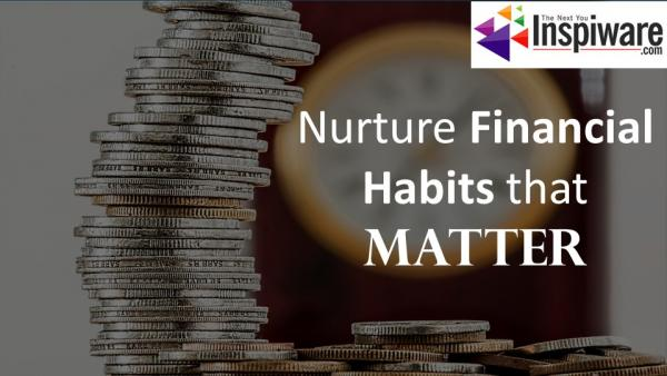 Financial habits that matter