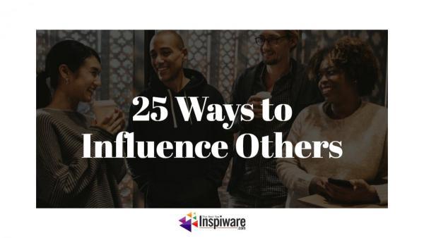 Top Strategies to Exert Influence