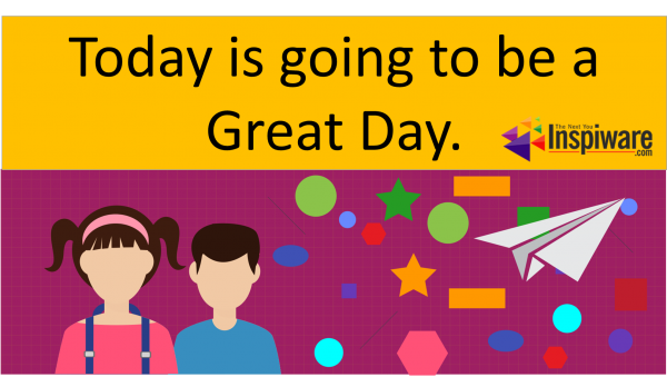 Affirmations for Kids: Today is going to be great day